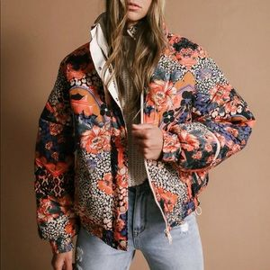 NWT Free People Movement Power House Puffer Jacket